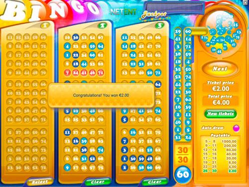 Jeu du bingo