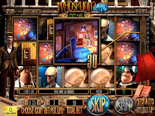 La machine à sous Whos Punit - Betsoft Gaming.