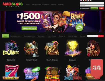 photos casino madslots page d'accueil